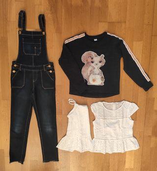 Lote ropa niña 8-9 años