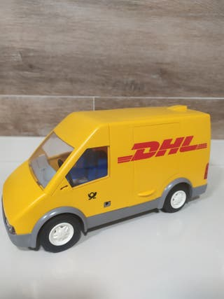 Playmobil furgoneta dhl