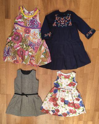 Lote vestidos niña 6-7 años