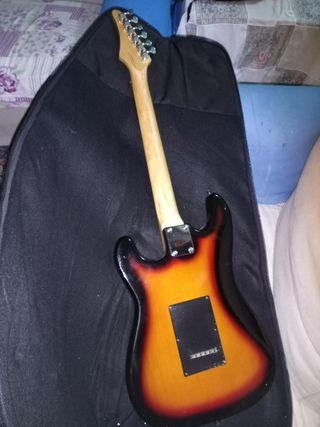 guitarra eléctrica como nuevo negociable