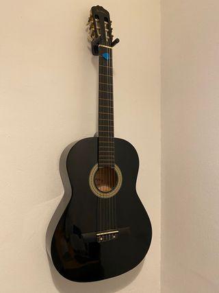 Guitarra Española Negra Memphis