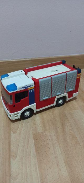 camión bomberos Playmobil
