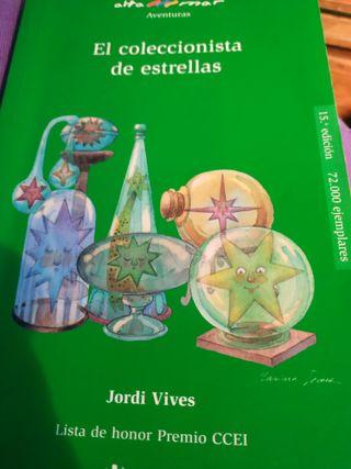 Libro el coleccionista de estrellas