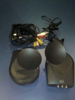 Antenas emisor- receptor.