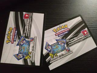 Códigos Pokémon Tcg online