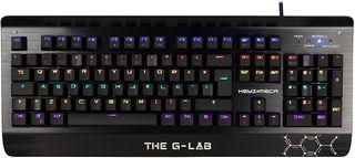 Teclado THE G-LAB KEYZ MECA USB Negro Mecánico