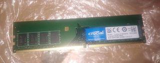 Memoria RAM Crucial DDR4 2400 PC4-19200 8GB CL17