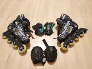 Roller marca FILA + protecciones