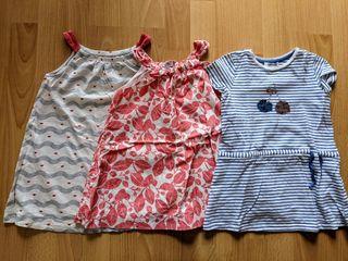 lote 3 vestidos okaidi 3 años