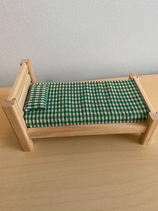 Cama madera juguete