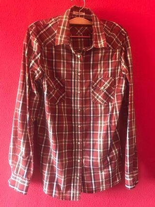 Camisa cuadros Massimo Dutti