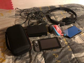 Nintendo switch negra
