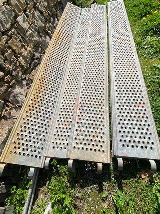 Plataformas baldas Andamio