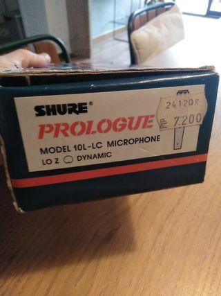 micrófono shure prologue modelo 10L-LC