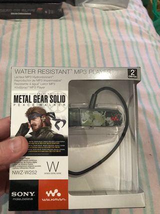 Walkman mp3 sony edición limitada metal gear solid