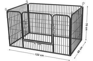 Jaula / parque para perros