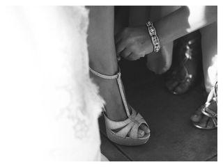 Zapatos de tacón alto color plata