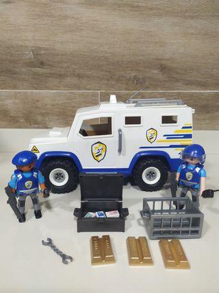 Playmobil furgón blindado policia