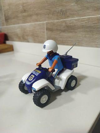 Playmobil quad policía