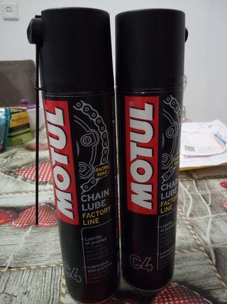 spray grasa cadena moto motul