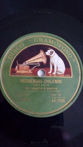 Disco de Pizarra Gramófono