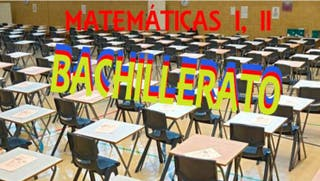 CLASES PARTICULARES BACHILLERATO 10 euros la hora