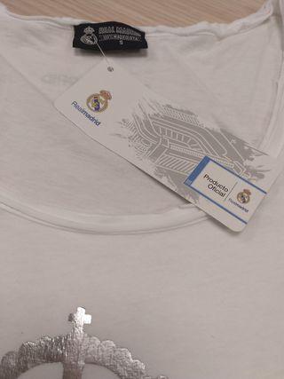 Camiseta de tirantes Real Madrid Mujer
