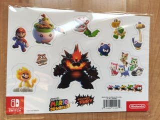 Imanes Super Mario 3D World + Bowser's Fury