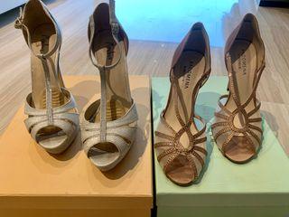 Pack de 2 pares de sandalias de tacón