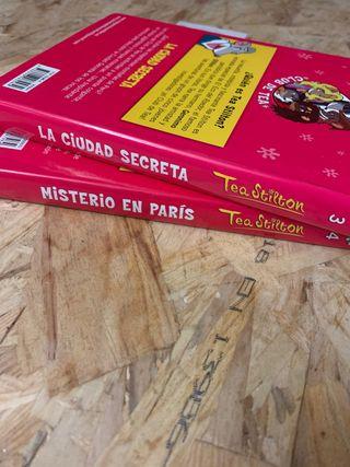 Dos libros de Thea Stilton