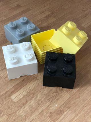 Cajas LEGO 5ud lote colores
