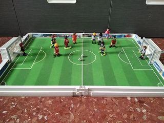 maletín Playmobil fútbol