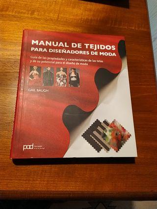 manual de tejidos para diseñadores de moda.