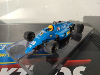 Ferrari F1 87 Azul Exin Scalextric