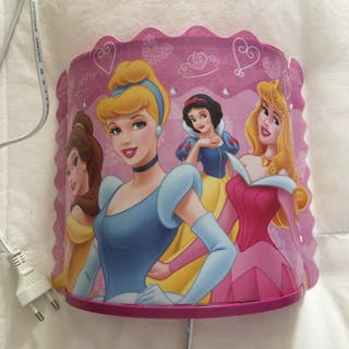 Princesas Disney Lampara aplique para pared