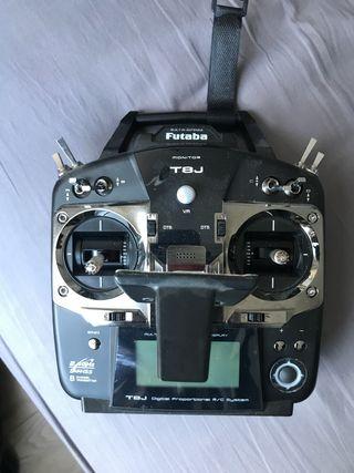 Drone GPS Gimball + Emisora Futaba