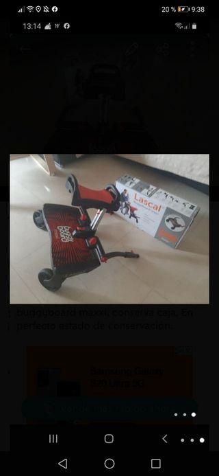 Patinete LASCAR buggy board