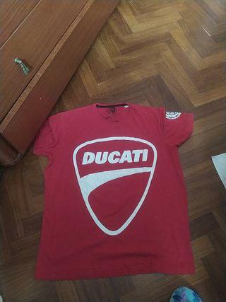 camiseta ducati talla M