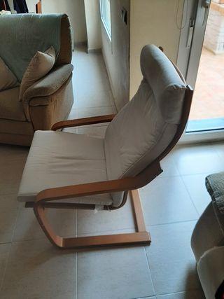 sillón ikea muy comodo