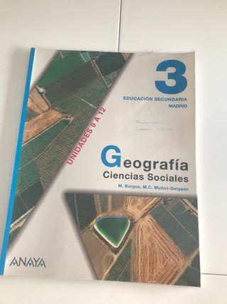 Geografía Ciencias Sociales 3
