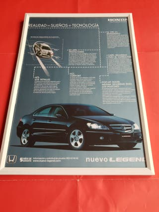 Honda Legend cuadro