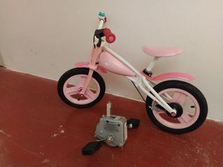 Bicicleta Imaginarium con sistema de pedales