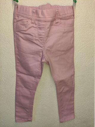 Pantalón vaquero de bebé niña, talla 104 cm