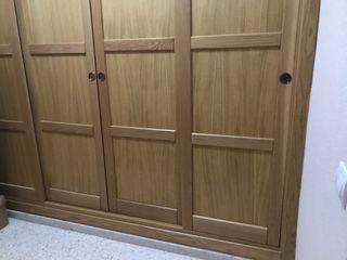 4 Puertas armario de madera