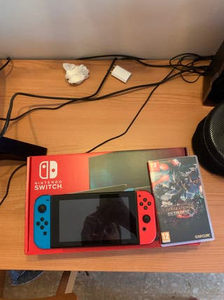 Nintendo Switch como nueva + MH