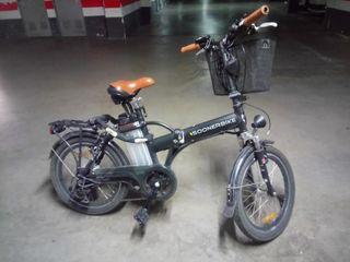 Bici eléctrica plegable (Soonerbike)