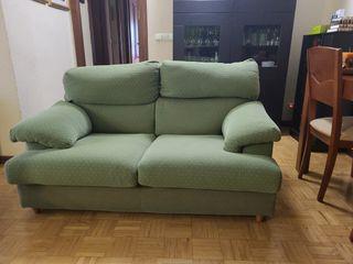 sofá dos plazas tejido anti manchas