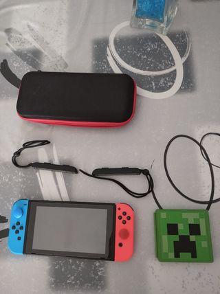 Vendo Nintendo Switch con juegos