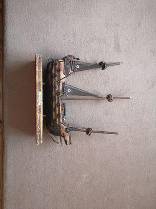 Maqueta barco Santa María.