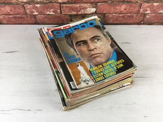 Pack Revistas del corazón Años 80-70